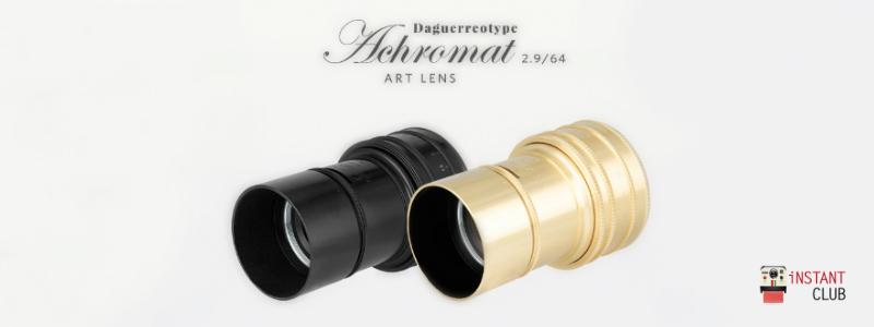 Lomography Daguerreotype Achromat Fantasia e Realtà